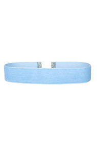Blue Velvet Choker Necklace