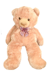 4.5 feet Giant Huggable Teddy Bear Cream
