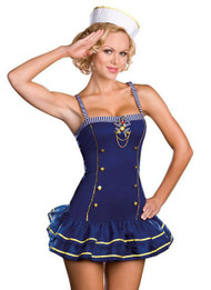 Charming Pin-up Sailor Costume