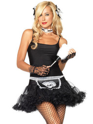 Sexy French Maid Tutu Petticoat Costume