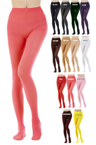 Full Opaque Tights Leotard 80 denier