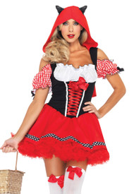 Deluxe Red Riding hood Wolfie Costume