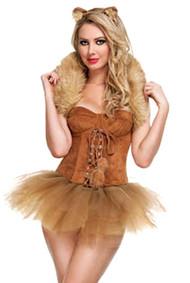 Queen of the Jungle Tutu Lioness Halloween Costume