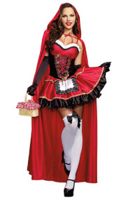 Deluxe Sexy Little Red Riding Hood Costume