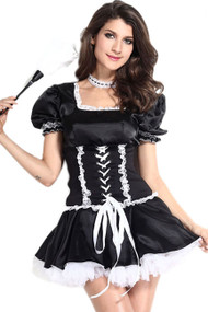 Sultry French Maid Costume