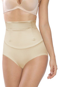 Mesh Boned Tummy Trimmer Panty Girdle
