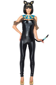 Egyptian Cat Queen Catsuit Costume