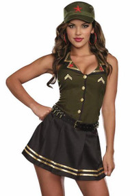 Military Temptress Army Brat Costume