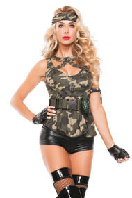 GI Jane Military Babe Costume