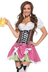 Sexy Swiss Oktoberfest Dirndl Costume