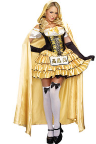 Deluxe Goldilocks Cape Costume