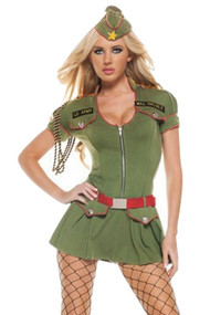 Major Booty Army Costume