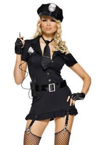 Flirty Dirty Cop Costume