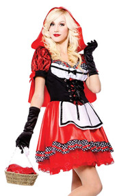 Bewitching Red Riding Hood Costume Plus