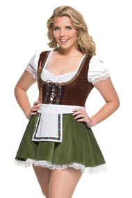 German Julia Dirndl Costume XL Plus Size