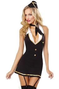 Flight attendant Hottie Costume