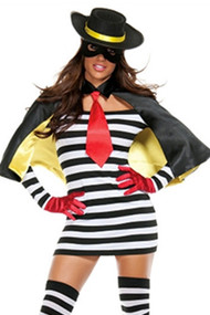 Sexy Bank Robber Babe Costume