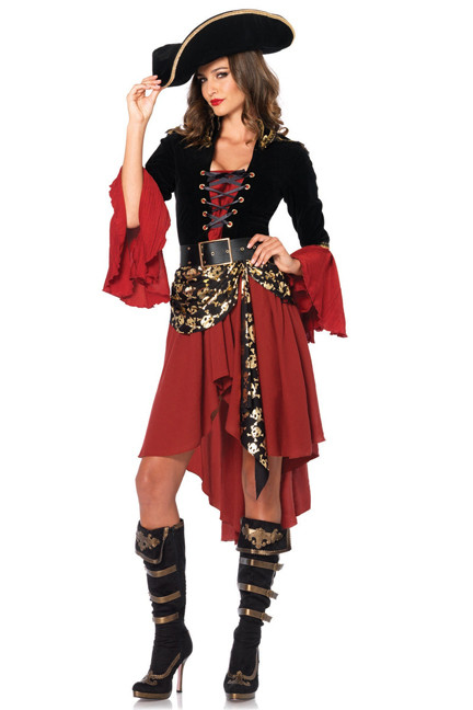 Flirty Swashbuckler Pirate Costume