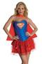Fancy Supergirl Corset Petticoat Costume