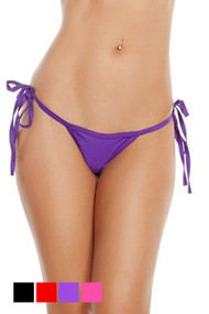 Side Tie G String Floss Thong Panty Plus Size