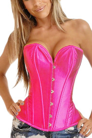 Siena Pink Sweetheart Corset