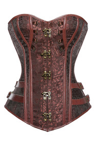 Alexandra Brown Steampunk Corset