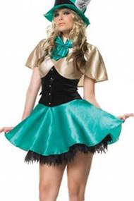 Glam Mad Hatter in Wonderland Costume