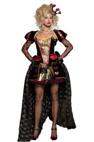 Glitter Glam Train Queen of Hearts Costume