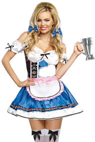 Annalise Off Shoulder Beer Maid Costume