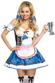 Annalise Off Shoulder Beer Maid Costume