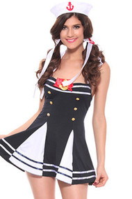 Ship Crew Sailor Babe Costume