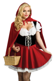 Red Riding Hood Babe Costume