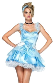 Cindy Princess Mini Dress Costume