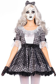Porcelain Gothic Doll Costume