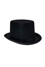 Classic Felt Top Hat Costume Accessory
