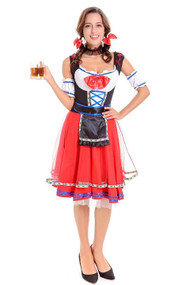 Jenna Oktoberfest Beer Maid Long Plus XL