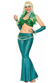 Coralia Blue Mermaid Costume