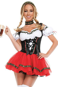 Delmy Beer Maid Costume Plus XL