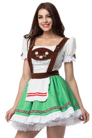 Berta Beer Maid Costume Plus XXL
