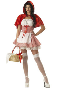 Red Riding Hood Missy Costume Plus XXL