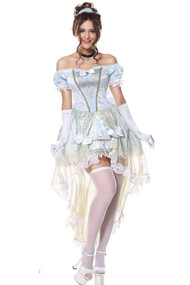 Deluxe Princess Cinderella Costume Plus XL