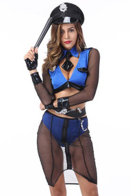 Naughty Crime Bustin´ Cop Costume