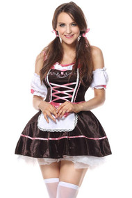 Ericka Tavern Beer Maid Costume Plus XL