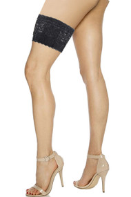 Black Lace Secret Pocket Sexy Leg Garter
