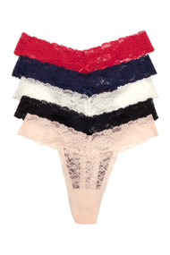 Vera Classic Lace Thong Panty