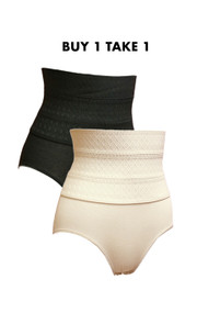 Buy 1 Get 1 Tummy Trimmer High Waist Panty Girdle