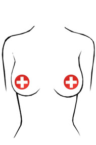 Nurse Red Cross Disposable  1 pair Nipple Pasties