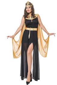 Deluxe Egyptian Queen Nefertiti Costume Plus XL