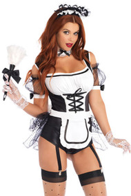 Playful French Maid Costume