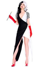 Cruella Evil Villain Costume